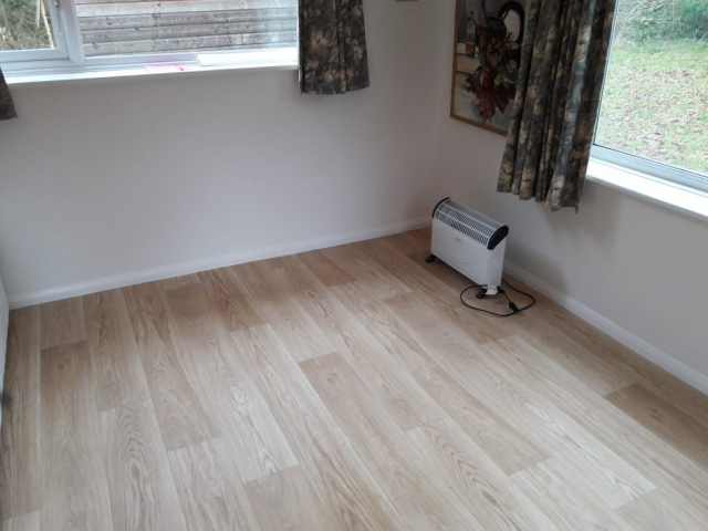 oak plank effect vinyl flooring
