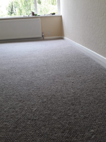 brockway wool carpet in bedroom, west sussex